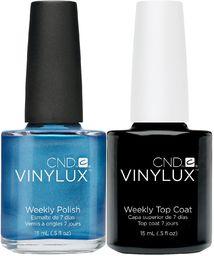 CND Vinylux Water Park plus Top Coat 15 ml, 1 opakowanie (1 x 30 ml)