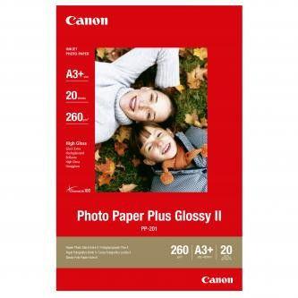 Canon PP-201 Photo Paper Plus Glossy, papier fotograficzny, błyszczący, biały, A3+, 275 g/m2, 20 szt.