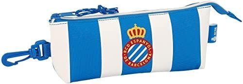 Duży piórnik R.C.D. Espanyol - oficjalny - trójkątny
