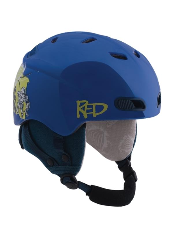 Red BUZZCAP BLU kask snowboardowy - YL