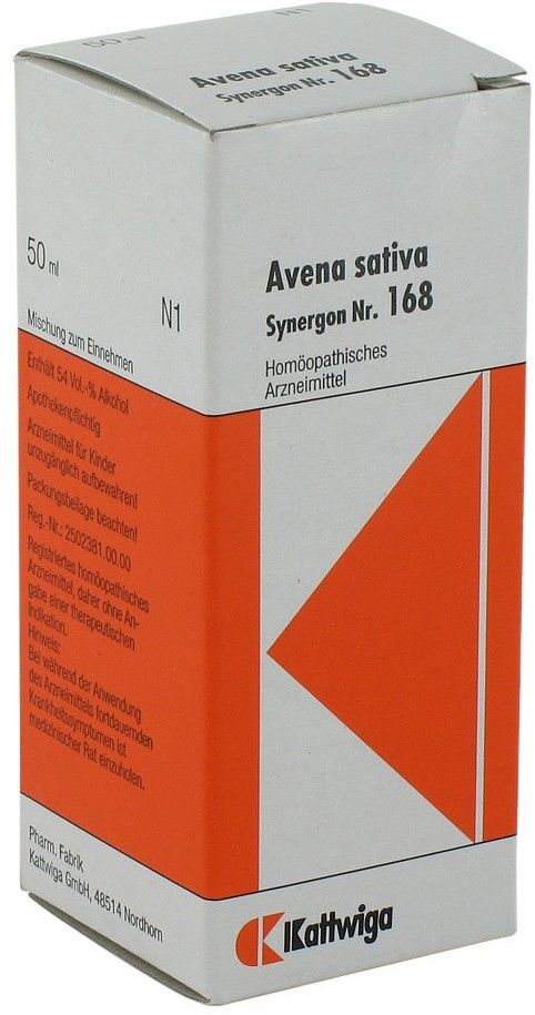 Synergon 168 Avena sativa Tropfen