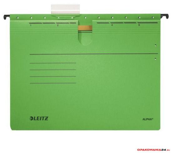 Skoroszyt zawieszany ALPHA zielony Leitz 19840155