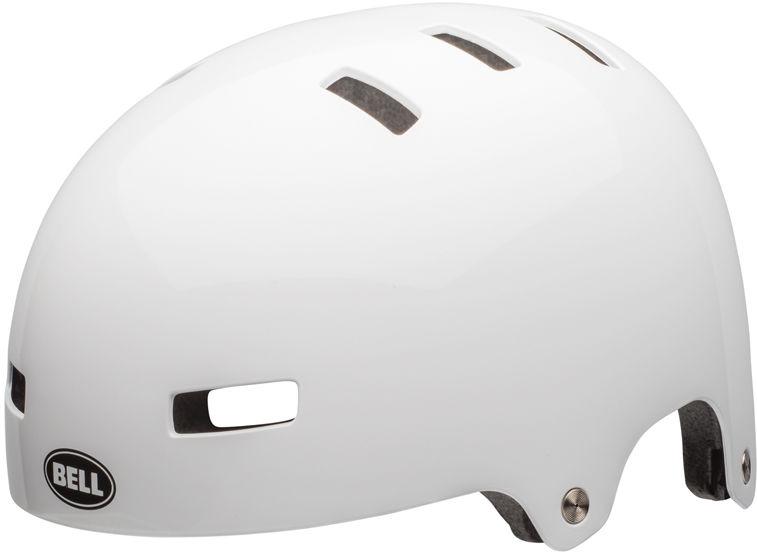 BELL kask rowerowy dziecięcy/juniorski SPAN gloss white BEL-7079229 Rozmiar: 51-55,BEL-7079229