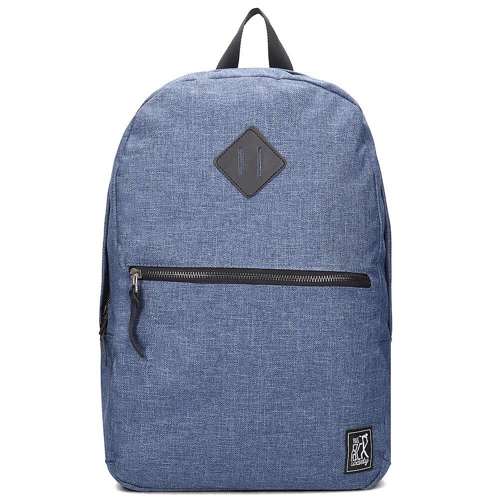 The Pack Society - Plecak Unisex - 999CMM702.27 - Niebieski