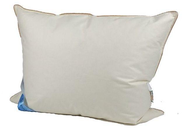 Poduszka z pierza 70x80 cm 1kg kremowa
