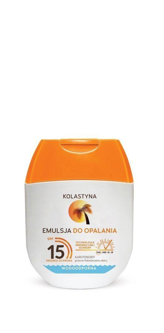 KOLASTYNA OPALANIE Kolastyna Opalanie Emulsja do opalania SPF15 60ml - mini