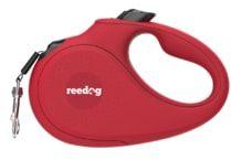 Reedog Senza Basic smycz automatyczna M 25kg / 5m taśma / czerwona