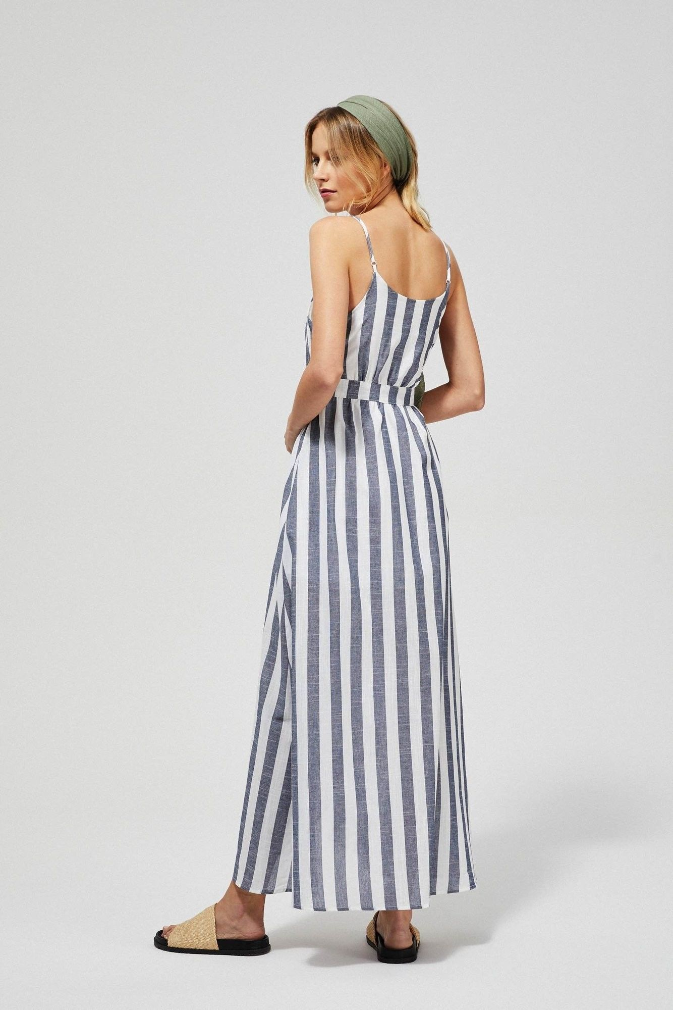 Sukienka maxi w paski