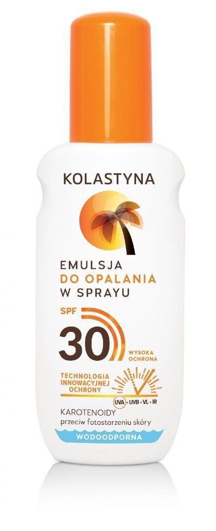 Kolastyna Kolastyna Opalanie Emulsja do opalania SPF30 - spray 150ml