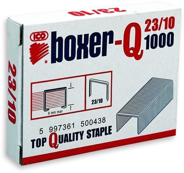 Zszywki ICO BOXER 23/10 1000 szt. - X08251