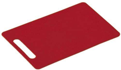 Kesper plastikowa deska do krojenia 24 x 15 x 0,5 cm czerwona