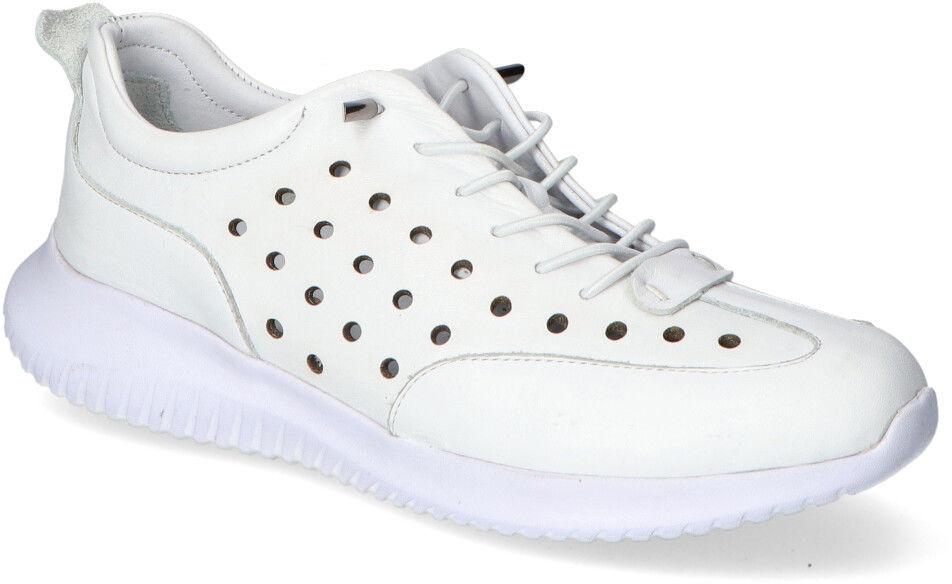 Sneakersy Loretta Vitale T-26 Białe lico