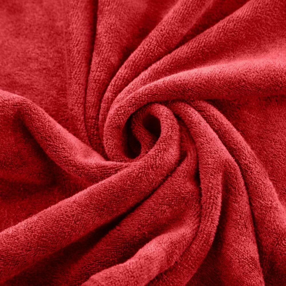 Ręcznik Szybkoschnący Amy 30x30 04 czerwony 380 g/m2 Eurofirany