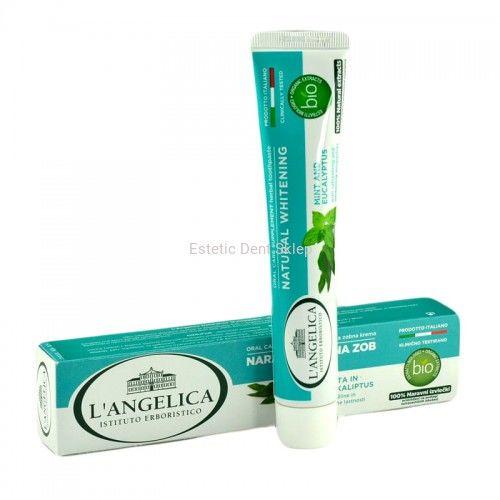 L''Angelica Naturalnie Wybielająca - ziołowa pasta do zębów