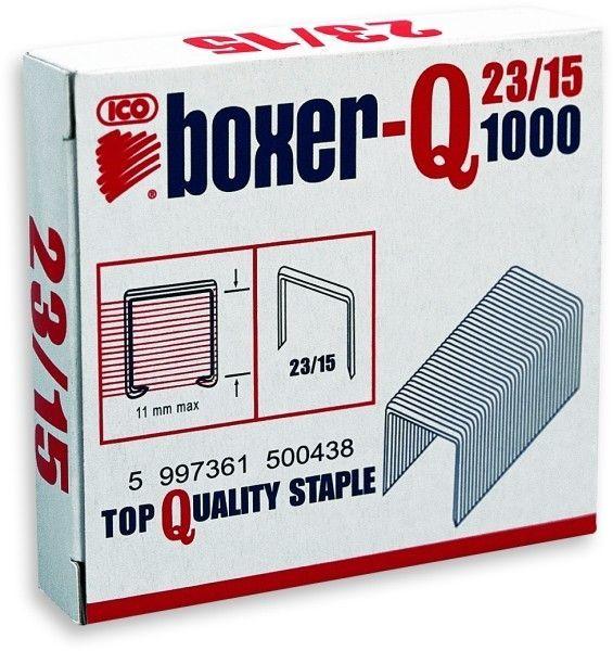 Zszywki ICO BOXER 23/15 1000 szt. - X08253