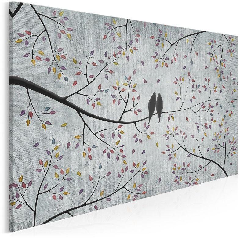 Wolni w miłości - nowoczesny obraz na płótnie - 120x80 cm