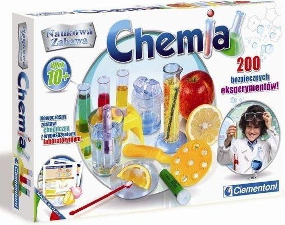 Clementoni Moja pierwsza chemia,chemia domowa 60716