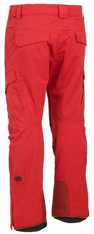 spodnie 686 - Smarty Cargo Pnt Red (RED)