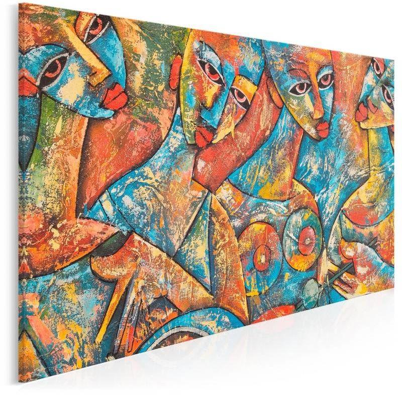 Muzy Adonisa - nowoczesny obraz na płótnie - 120x80 cm