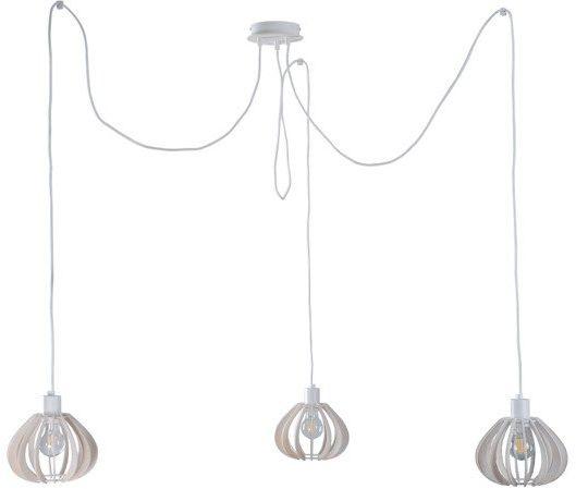 Nowoczesna lampa wisząca pająk NICOLETA 808 biały