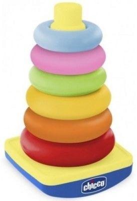 Chicco - Pastelowa Wieża z pierścieni 74235