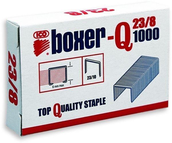 Zszywki ICO BOXER 23/8 1000 szt. - X08257