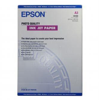 Epson S041068 Photo Quality InkJet Paper, papier fotograficzny, matowy, biały, A3, 105 g/m2, 720dpi, 100 szt.
