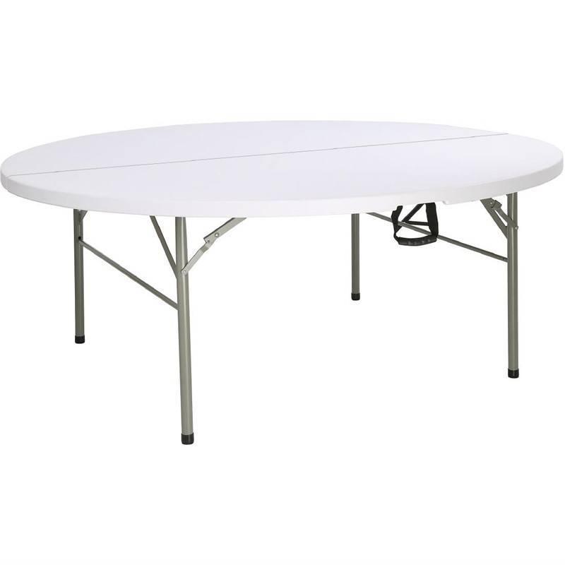Stół składany okrągły 183cm 183(Ø)x(H)74cm
