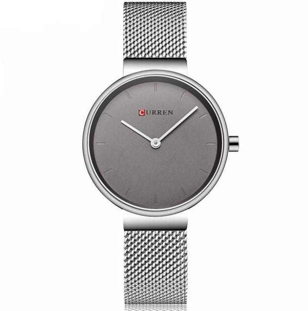 Damski zegarek CURREN na srebrnej bransolecie