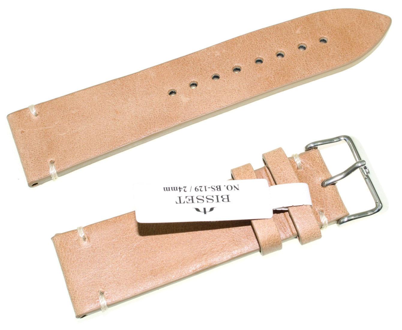 Skórzany pasek do zegarka 24 mm Bisset BS-129.24.22
