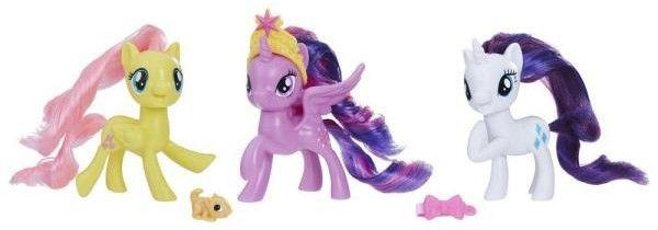 My Little Pony Kolekcja figurek Przyjaciele z Equestrii Kucyki E0172