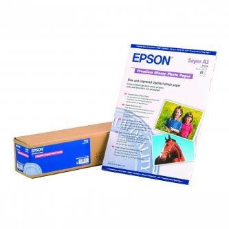 Epson S041315 Premium Glossy Photo Paper, papier fotograficzny, błyszczący, silny, biały, A3, 255 g/m2, 20 szt.