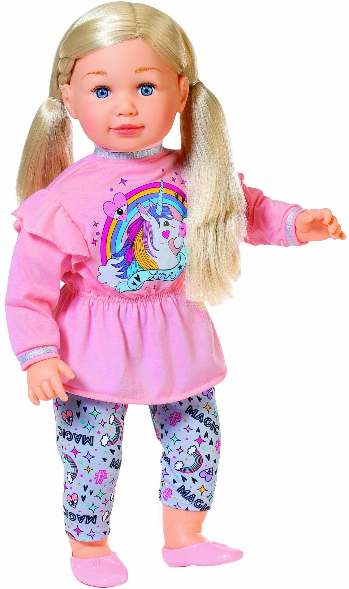 Zapf Creation 877654 Sally duża lalka z długimi włosami i miękkim korpusem, 63 cm