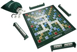 Mattel Games Y9594 Scrabble Original Gra Planszowa
