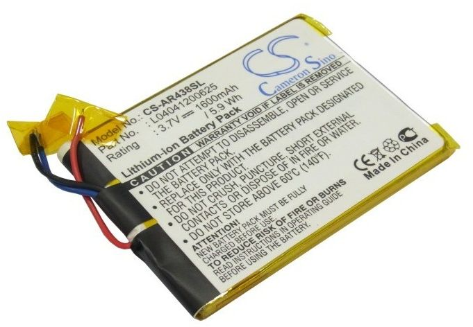 Archos 43 Internet Tablet / L04041200625 1600mAh 5.92Wh Li-Polymer 3.7V (Cameron Sino)