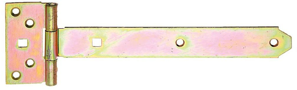 Zawias krzyżowy 250 x 100 mm przykręcany ocynkowany
