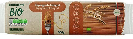 Spaghetti pełnoziarniste BIO 500g