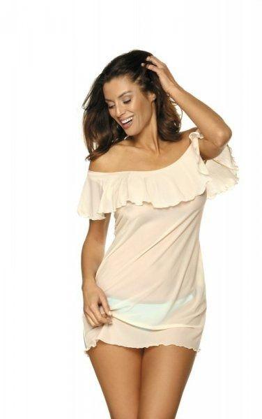 Sukienka plażowa marko juliet avorio m-461 (3)