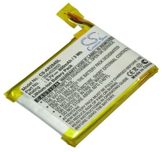 Archos 28 Internet Tablet / 39A402850 800mAh 2.96Wh Li-Polymer 3.7V (Cameron Sino)
