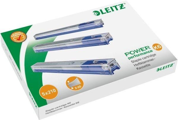 Zszywki LEITZ MAGAZYNEK K6 5 X 210 szt. - X08268