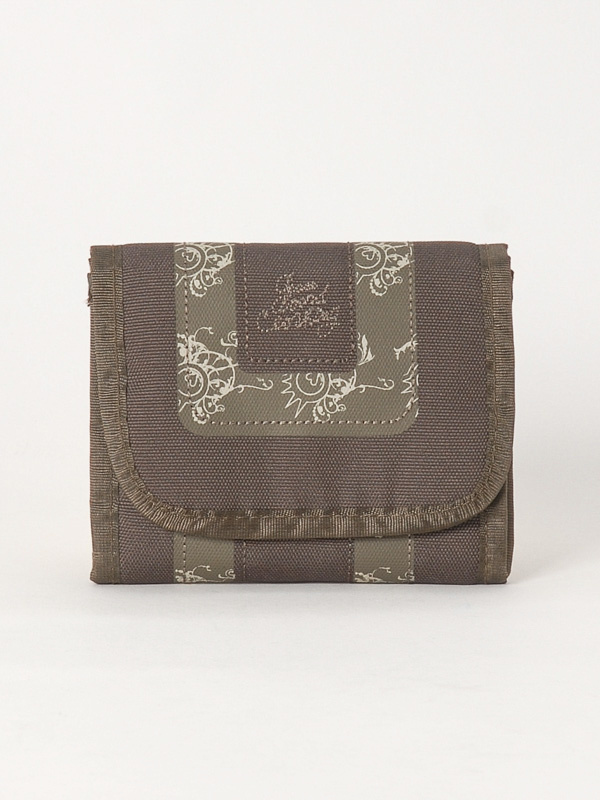 Peace ZONE BRW/BRW luksusowy ladies purse
