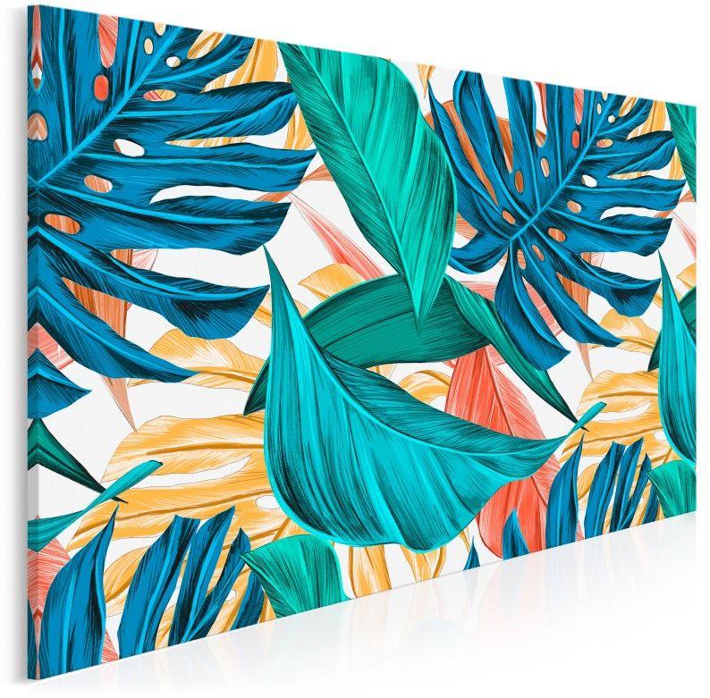 Oranżeria - nowoczesny obraz na płótnie - 120x80 cm