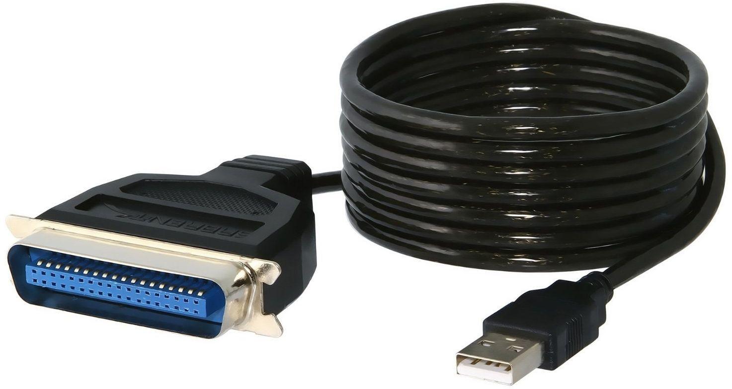 Sabrent USB do równoległego IEEE 1284 adapter kabla do drukarki (CB-CN36)