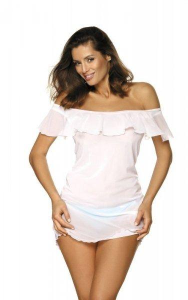 Sukienka plażowa marko juliet bianco m-461 (1)