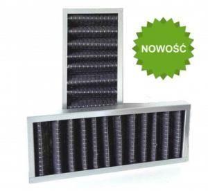Filtr kasetowy węglowy G4 do WANAS 550V/2, 550H/2 - 1 szt.