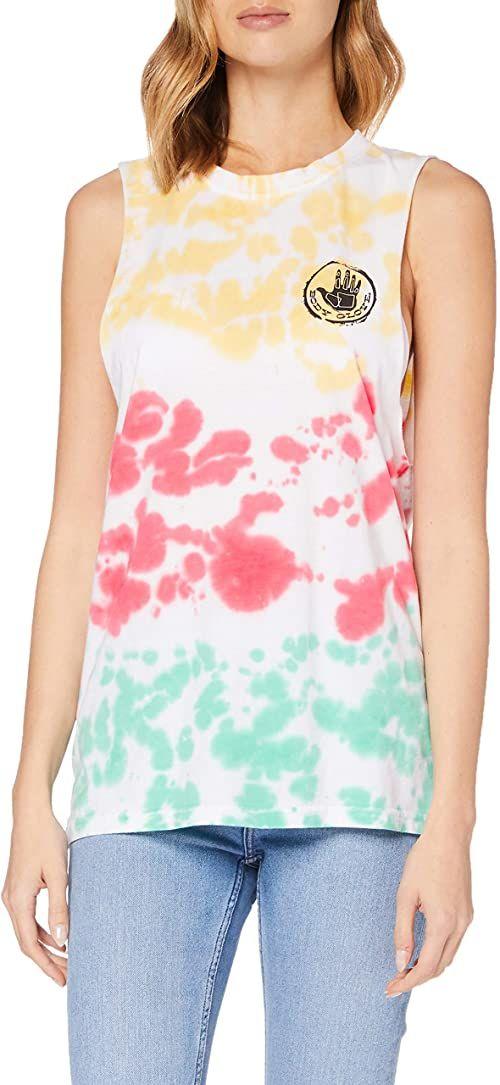 Body Glove Kamizelka damska Sherbet Vest, wielokolorowa (Pastel tie dye), M