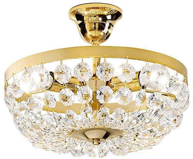Austrolux 960.13K.3 A++ do E, lampa sufitowa, szkło, 40 W, E14, 31 x 31 x 24 cm