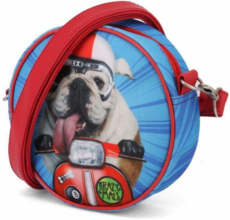 Karactermania Krazymals Bulldog okrągła torba na ramię torba kurierska
