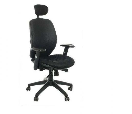 Fotel biurowy SPECTRUM HB czarny