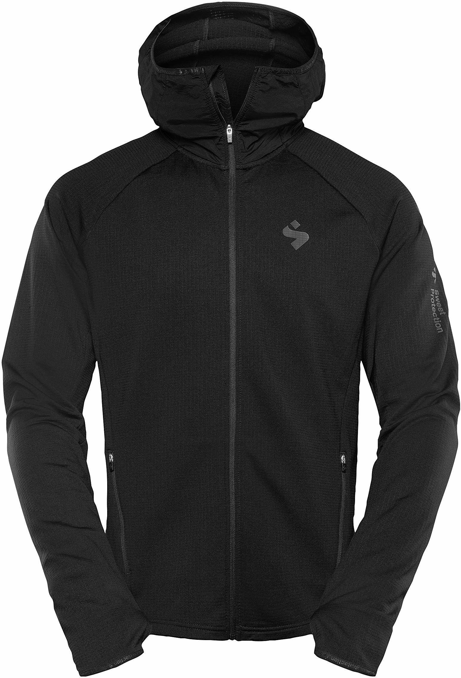 Sweet Protection męska koszulka Hunter Midlayer F/Z M Jersey czarny czarny S